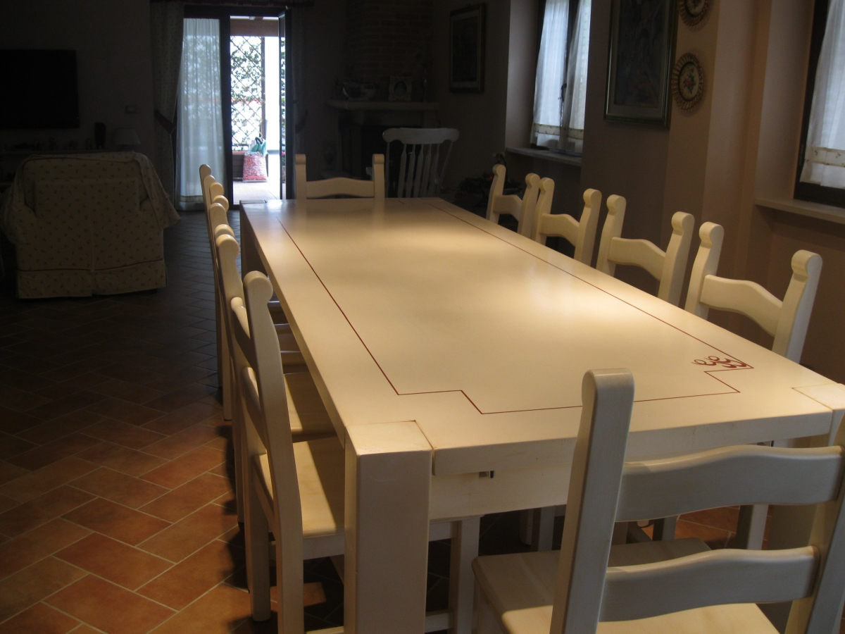 Sedie Dipinte A Mano : Tavoli e sedie dipinti u2013 falegnameriacococcia